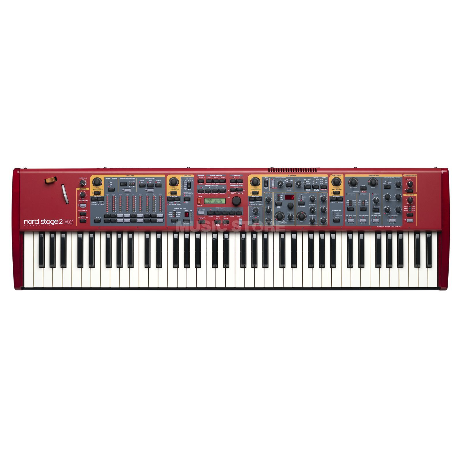 Clavia Nord Stage 2 EX Compact Stagepiano Produktbild
