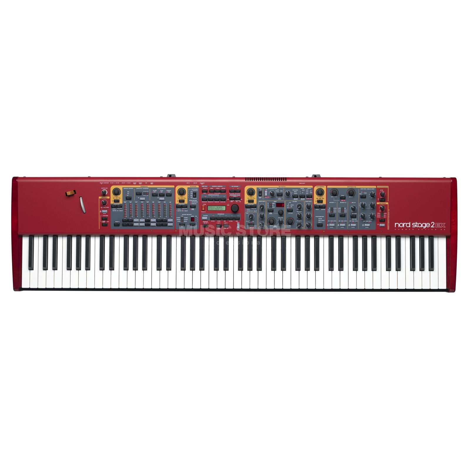 Clavia Nord Stage 2 EX HA88 Stagepiano Produktbillede