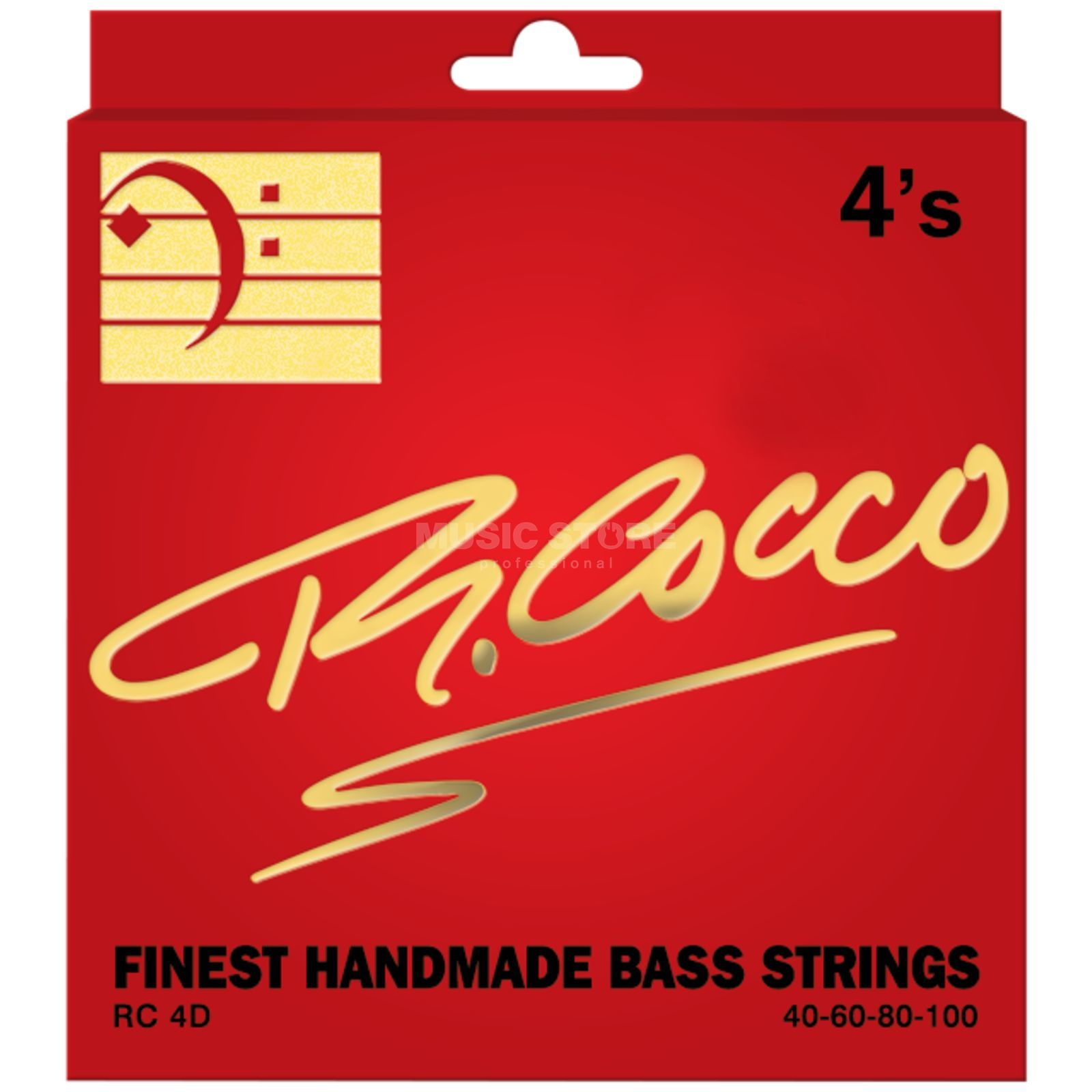 Cocco RC4D Bass Strings 40-100 4 Set, 40-60-80-100  Classic Wound Produktbillede