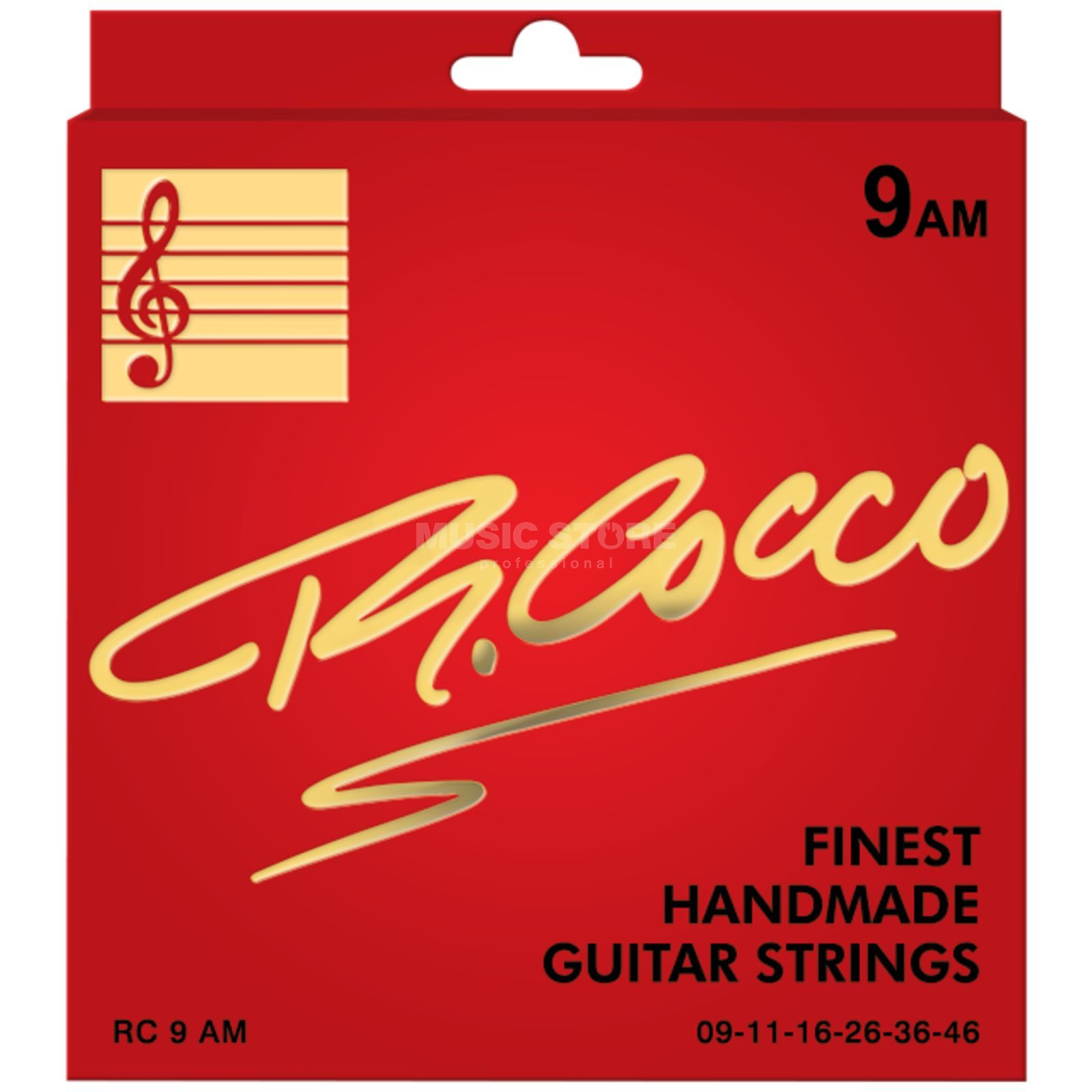 Cocco RC9AM E-Guitar Strings 09-46 Nickel Wound Produktbillede