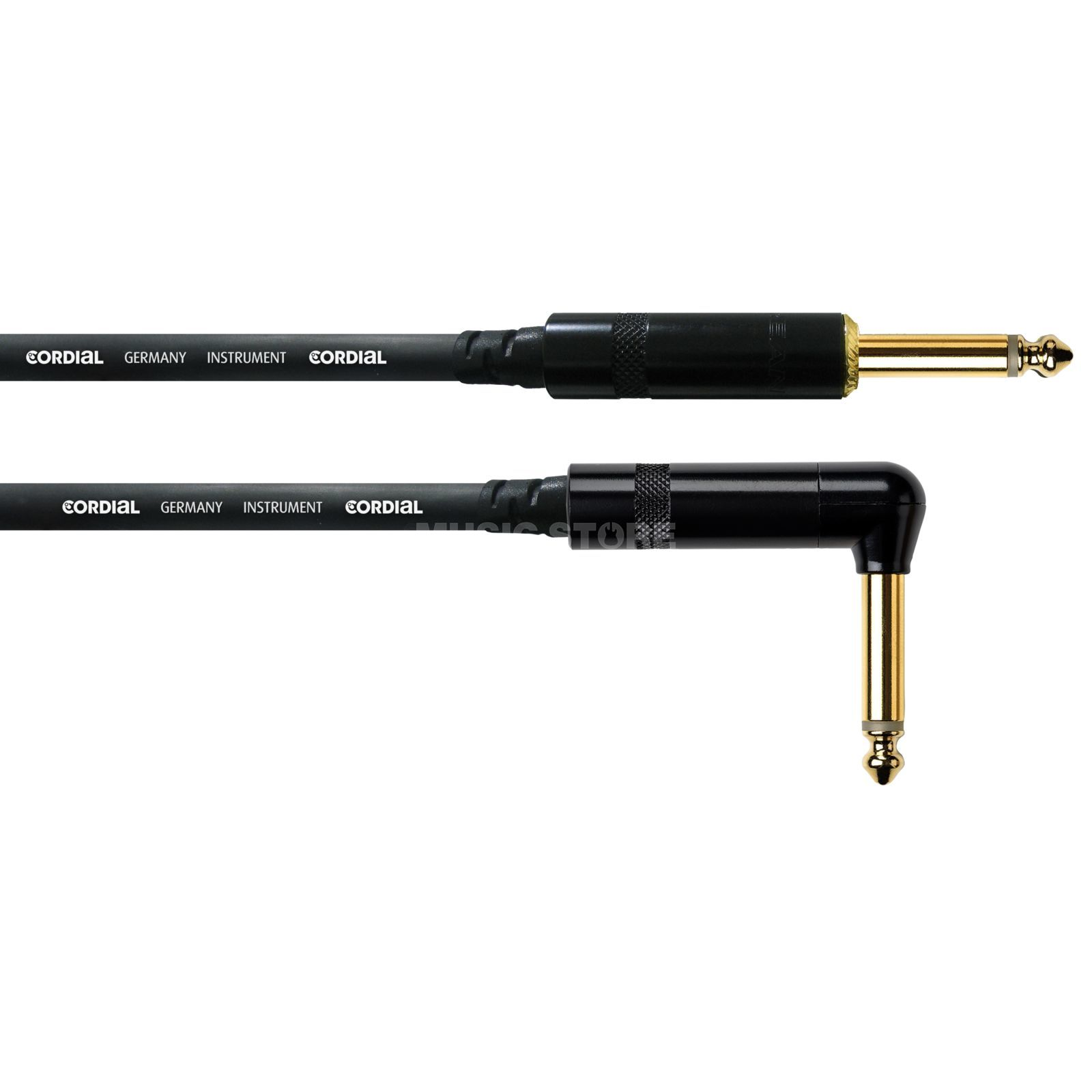 Cordial CCI 6 PR intro Instrument Cable 6m 1x Right Angled REAN Product Image