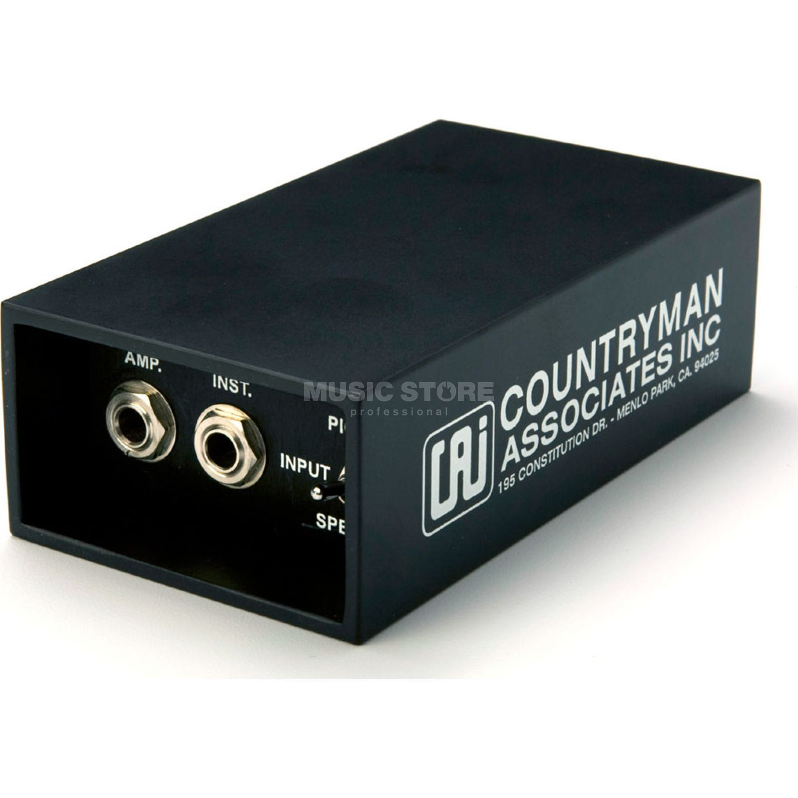 Country Man DT85 prof. DI Box aktiv Batterie oder Phantom Produktbild