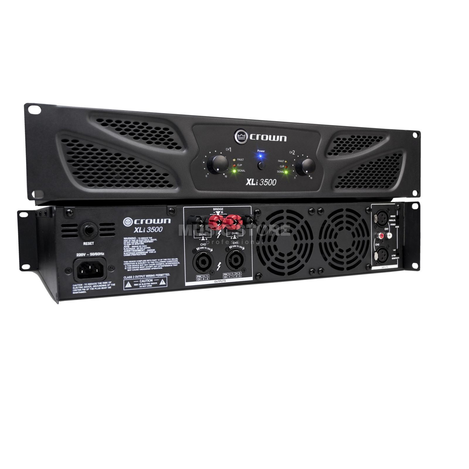 Crown XLI 3500 Amplifier 2x - 1350 Watt / 4 Ohm Produktbillede