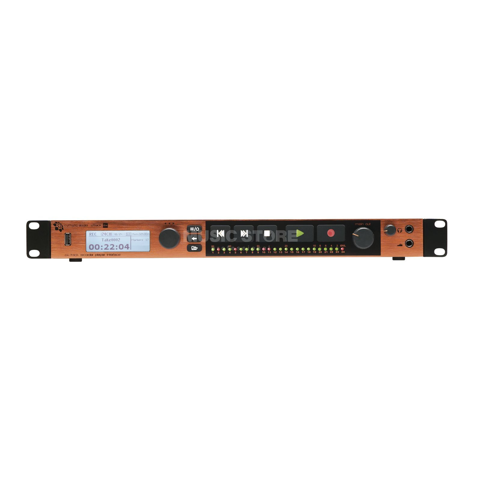 Cymatic Utrack 24 24 Kanal Rekorder/Interface Produktbild