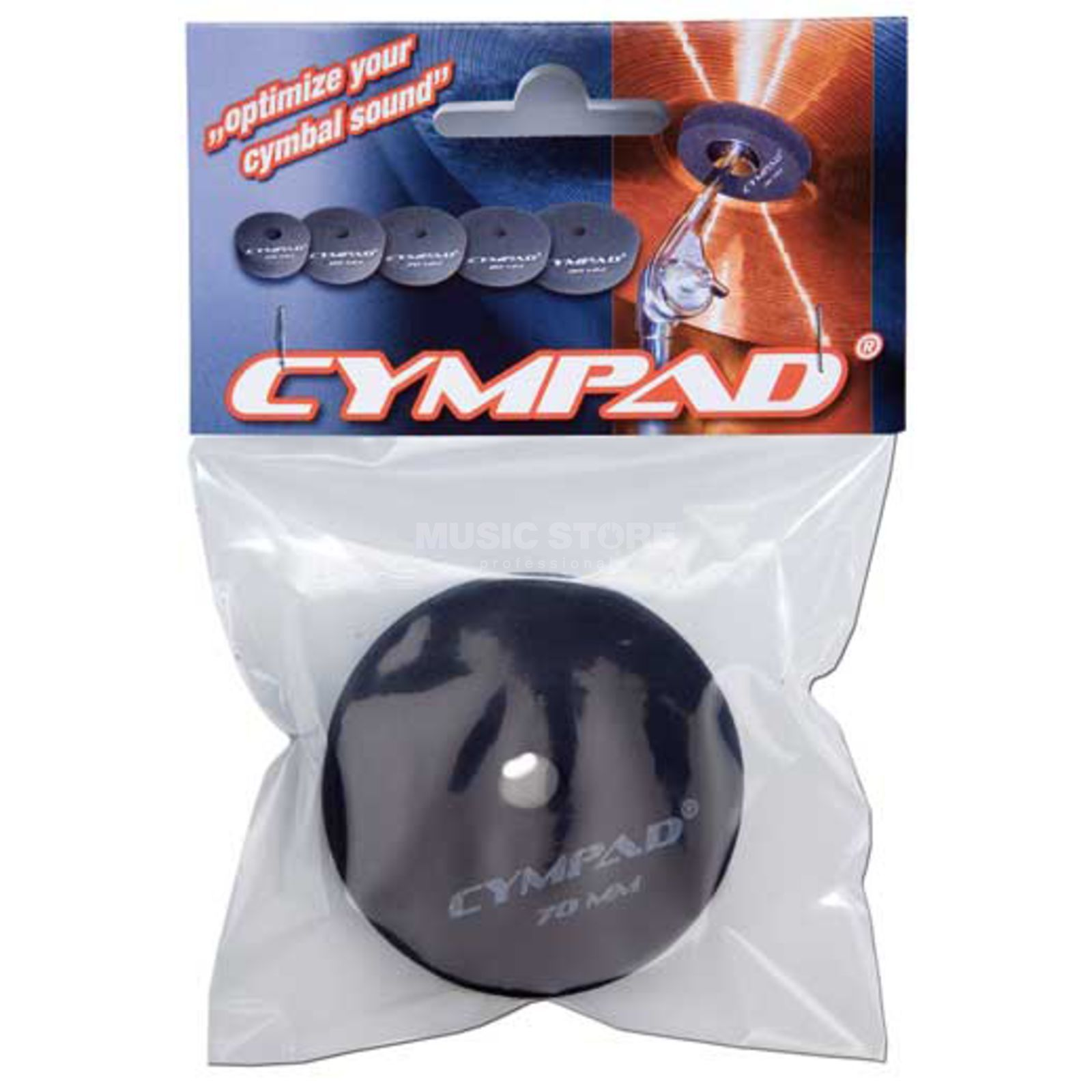 Cympad Cymbal felts, 70mm, 2 pcs Product Image