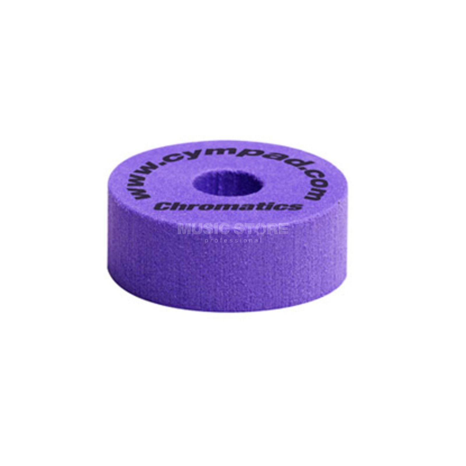 "Cympad Cymbal Felts ""Chromatics"", Purple, 40x15 mm Produktbillede"