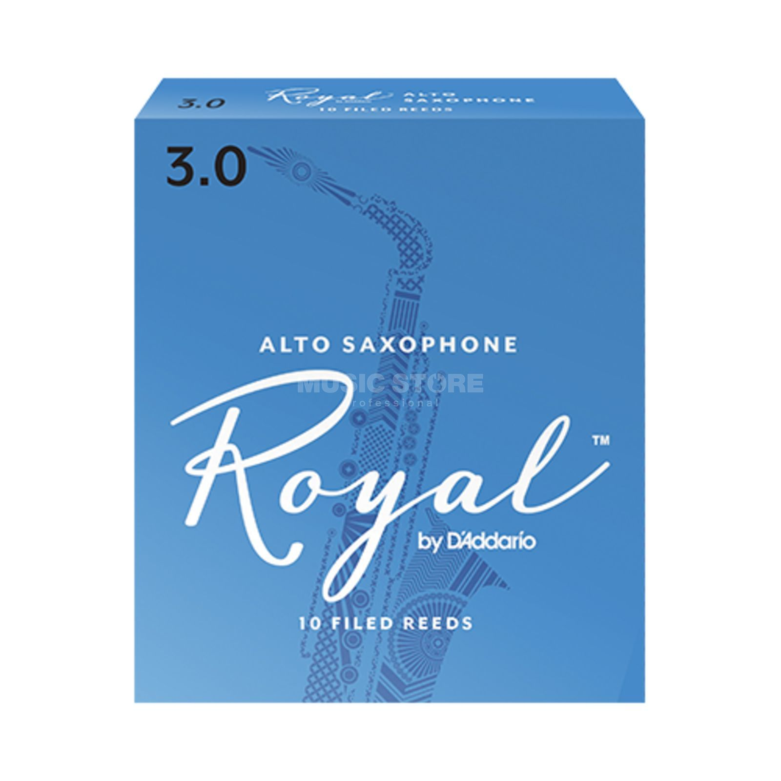 D'Addario Alto Saxophone Reeds 3 Box of 10 Product Image