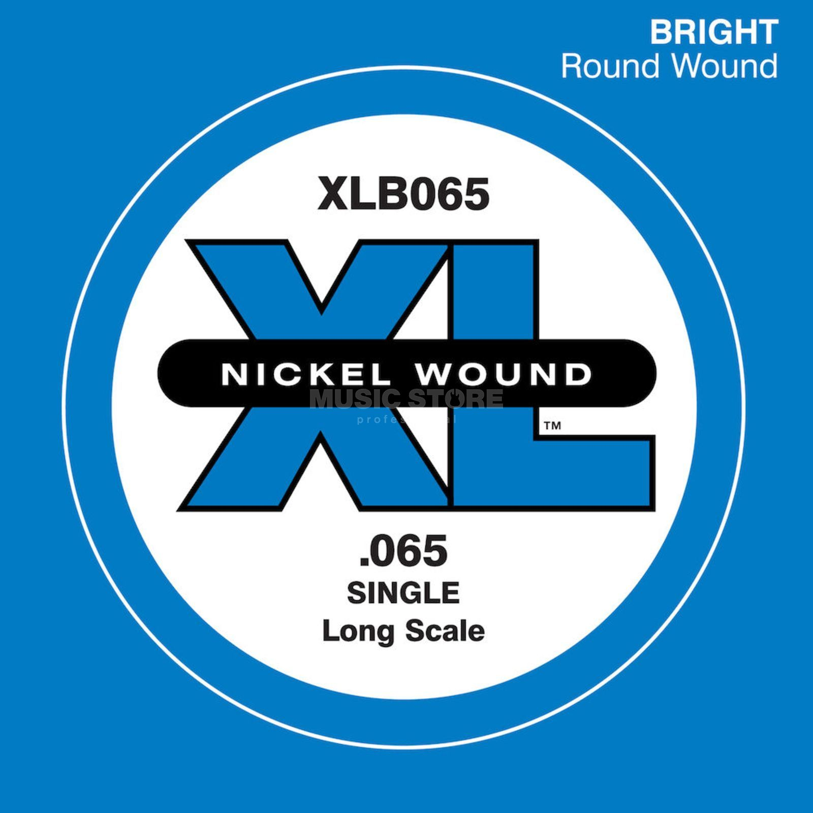 D'Addario Bass Single String XLB065 XL Nickel Wound Изображение товара