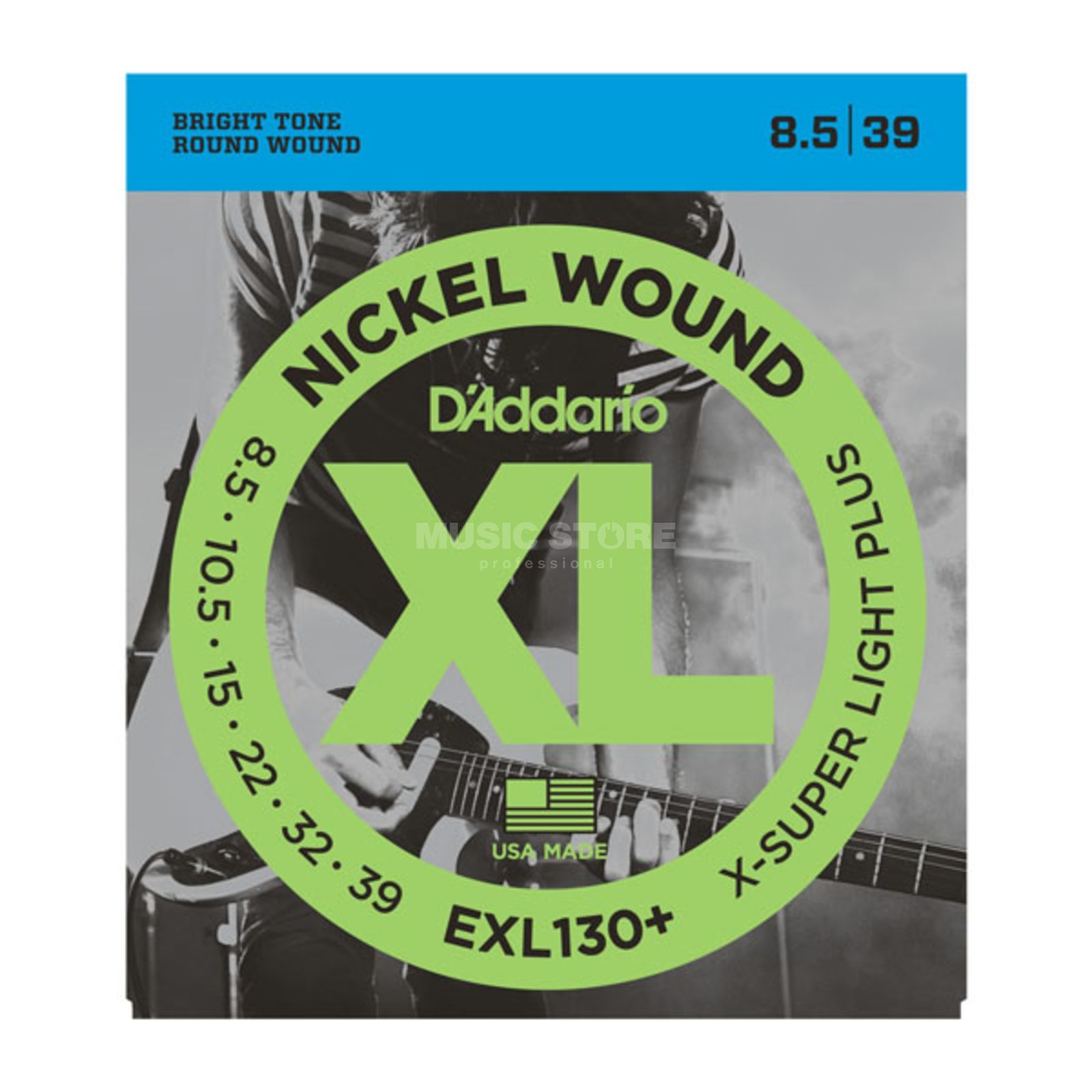 D'Addario E-Guit.Strings EXL130+0085-039 Nickel Wound Product Image
