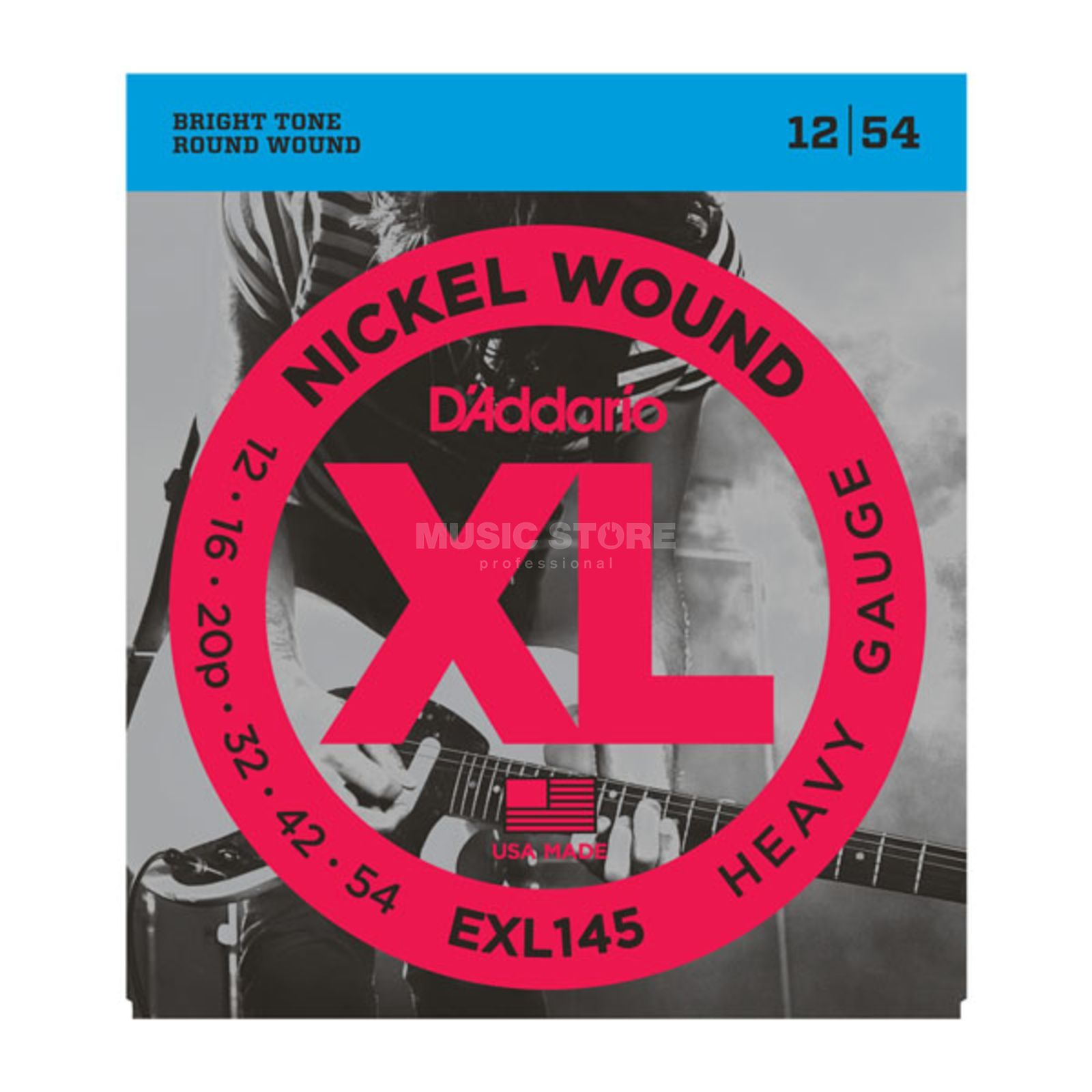 D'Addario E-Guitar Strings EXL145 12-54 Nickel Wound Produktbillede