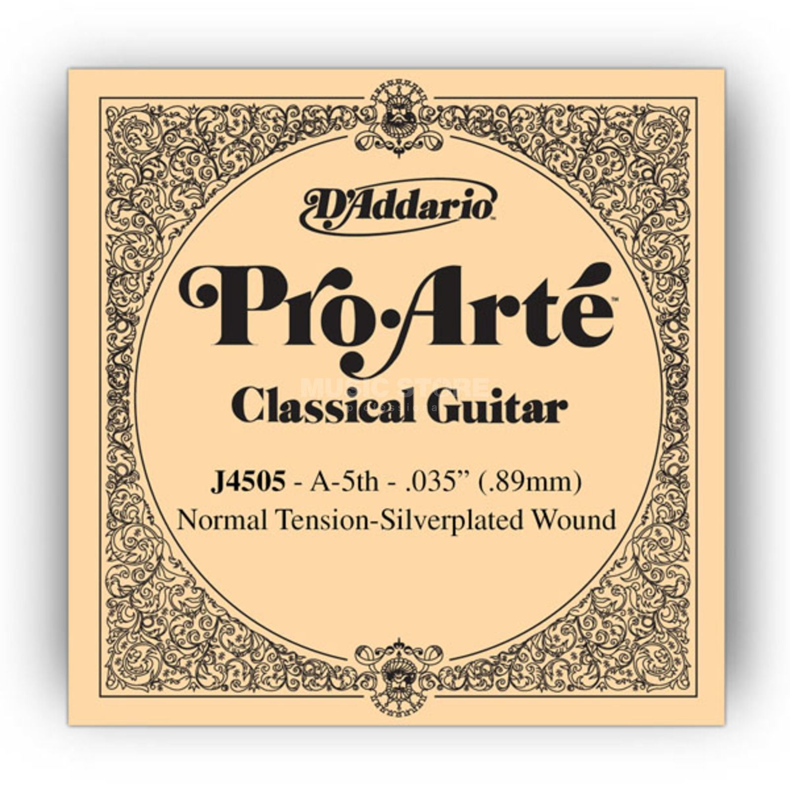 D'Addario J4505 A5 Pro Arte Single String Normal Tension  035/J45 Product Image