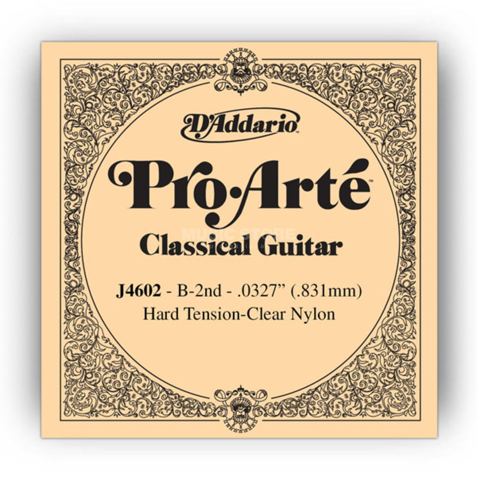 D'Addario J4602 H2 Pro Arte Single String Hard Tension 0327/J46/J71 Produktbillede