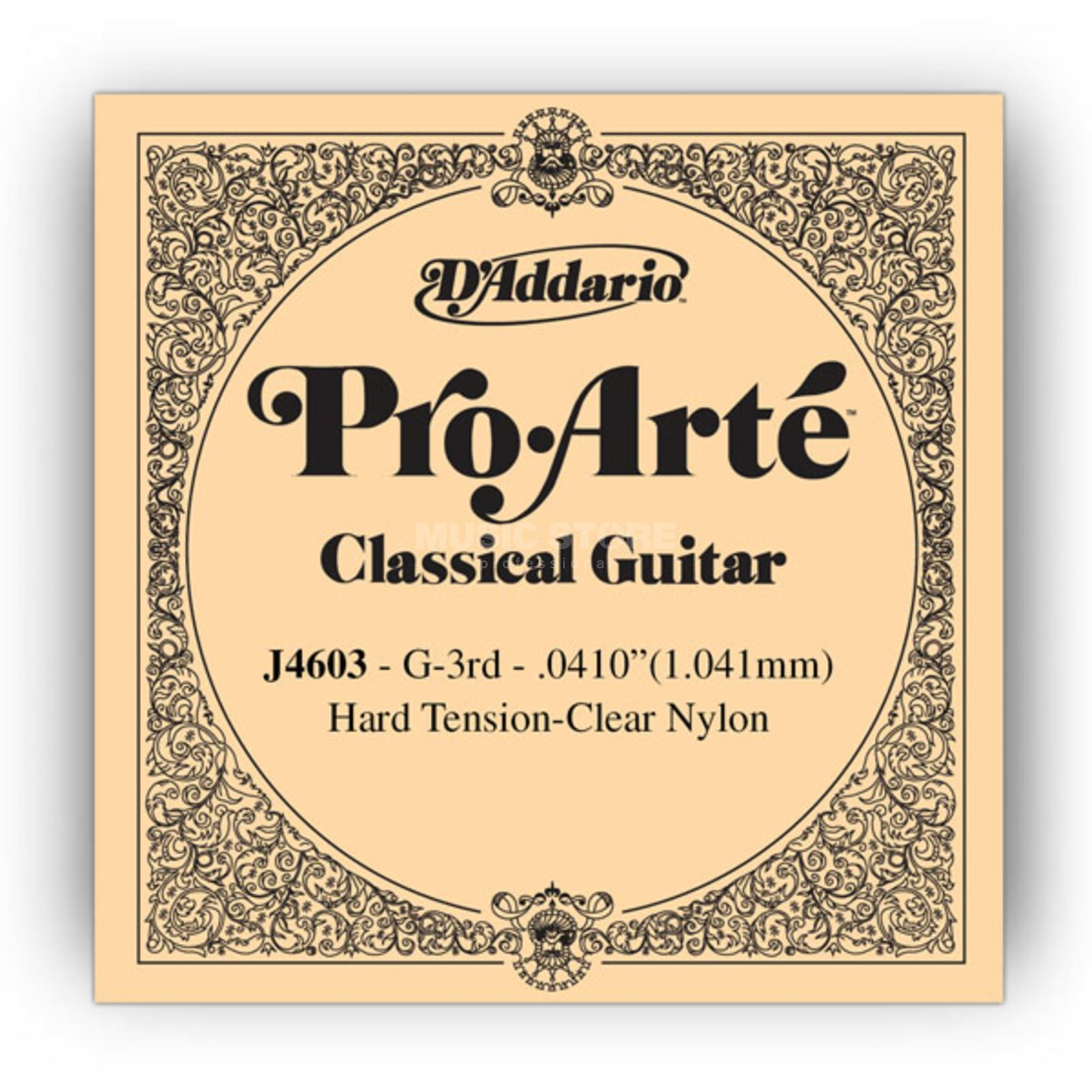 D'Addario J4603 G3 Pro Arte Single String Hard Tension 0410/J46/J71 Produktbillede
