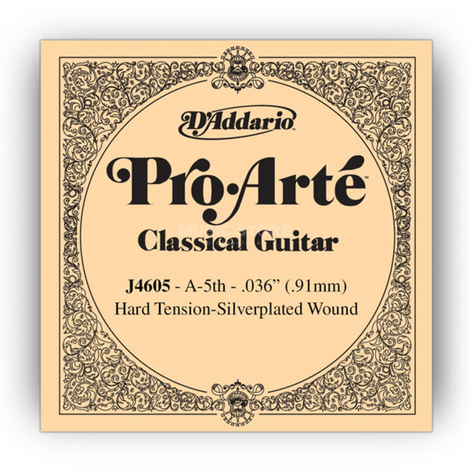 D'Addario J4605 A5 Pro Arte Single String Hard Tension 036/J46 Produktbillede