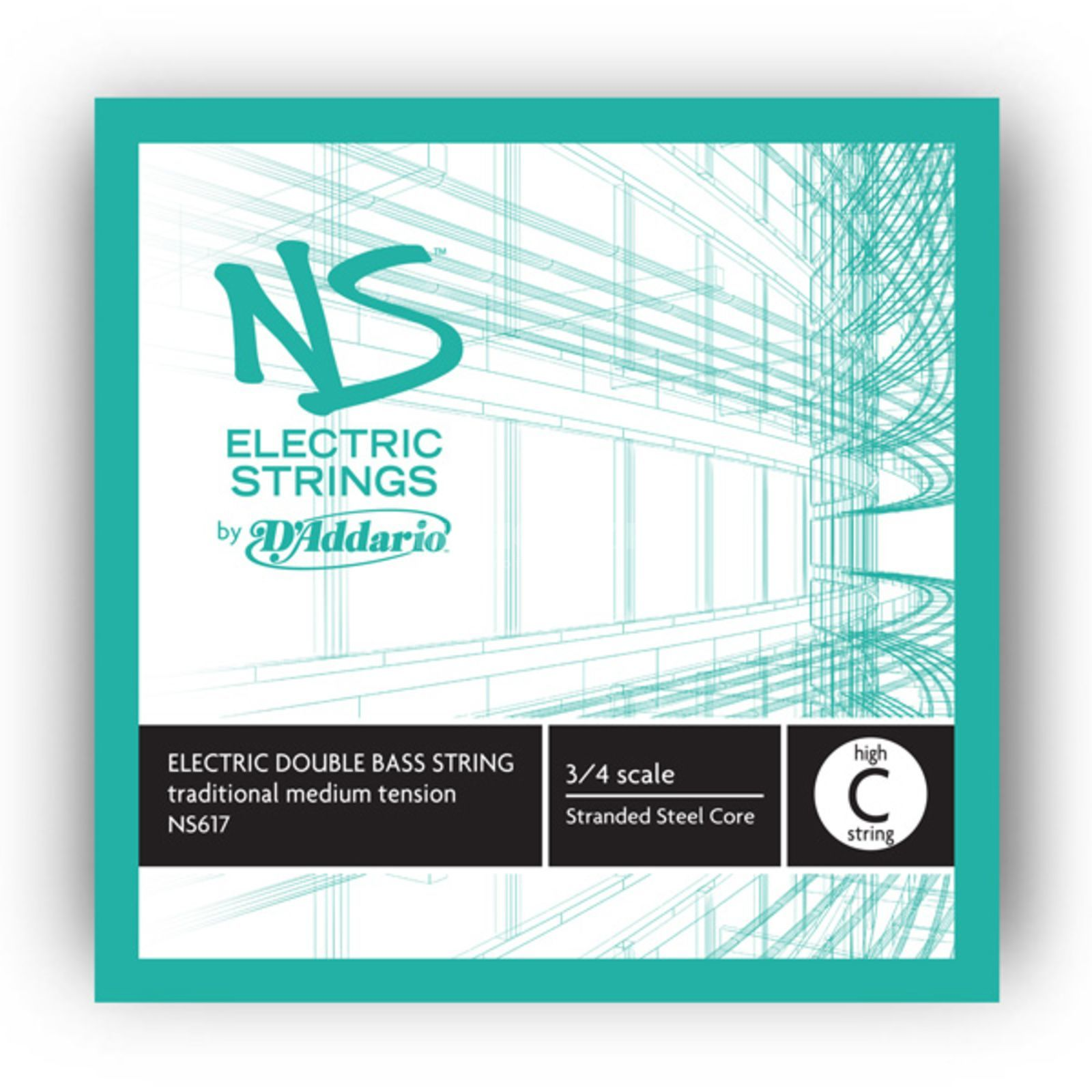 D'Addario NS617 E-Traditional High C Single String Изображение товара