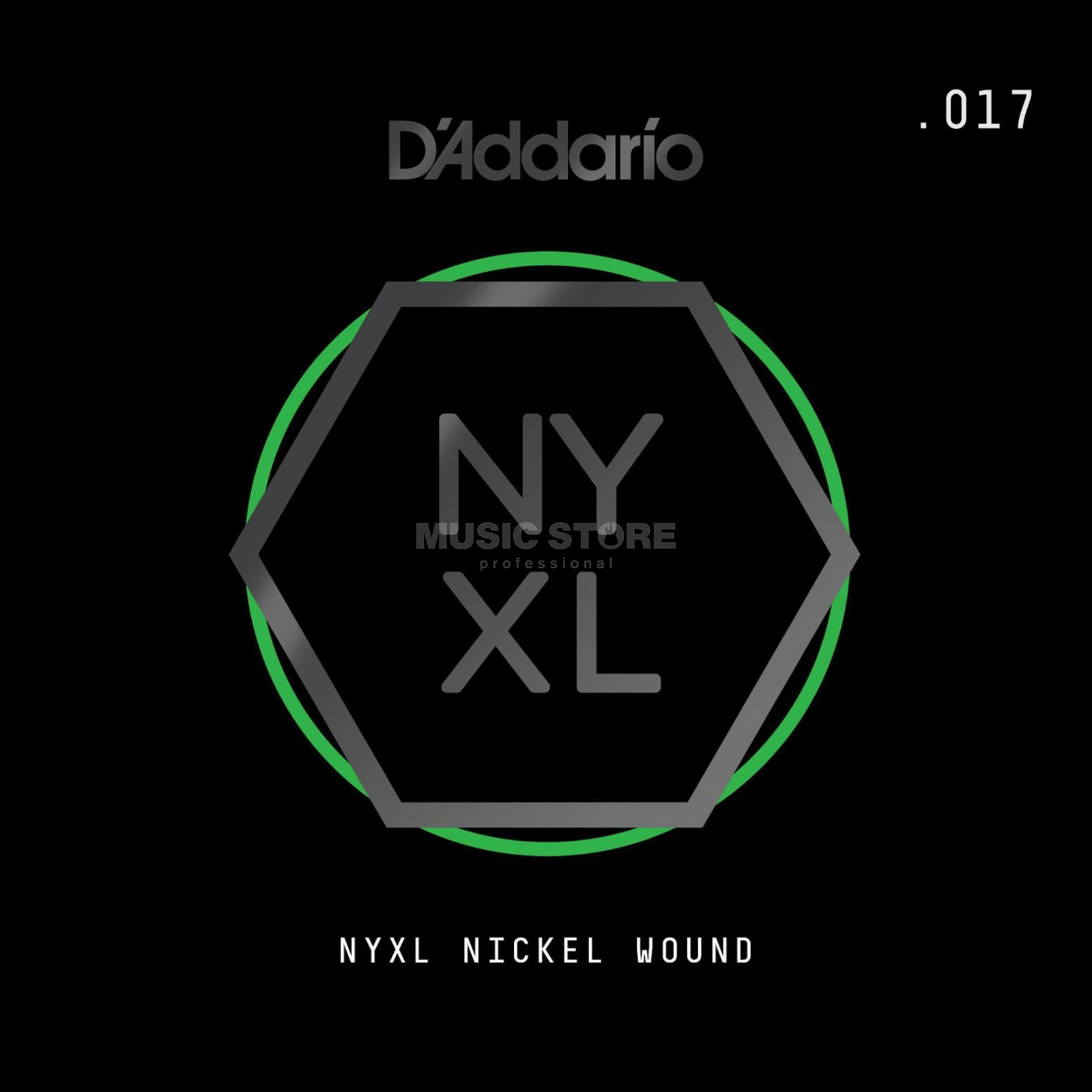 D'Addario NYNW017 Single String Nickel Wound Product Image