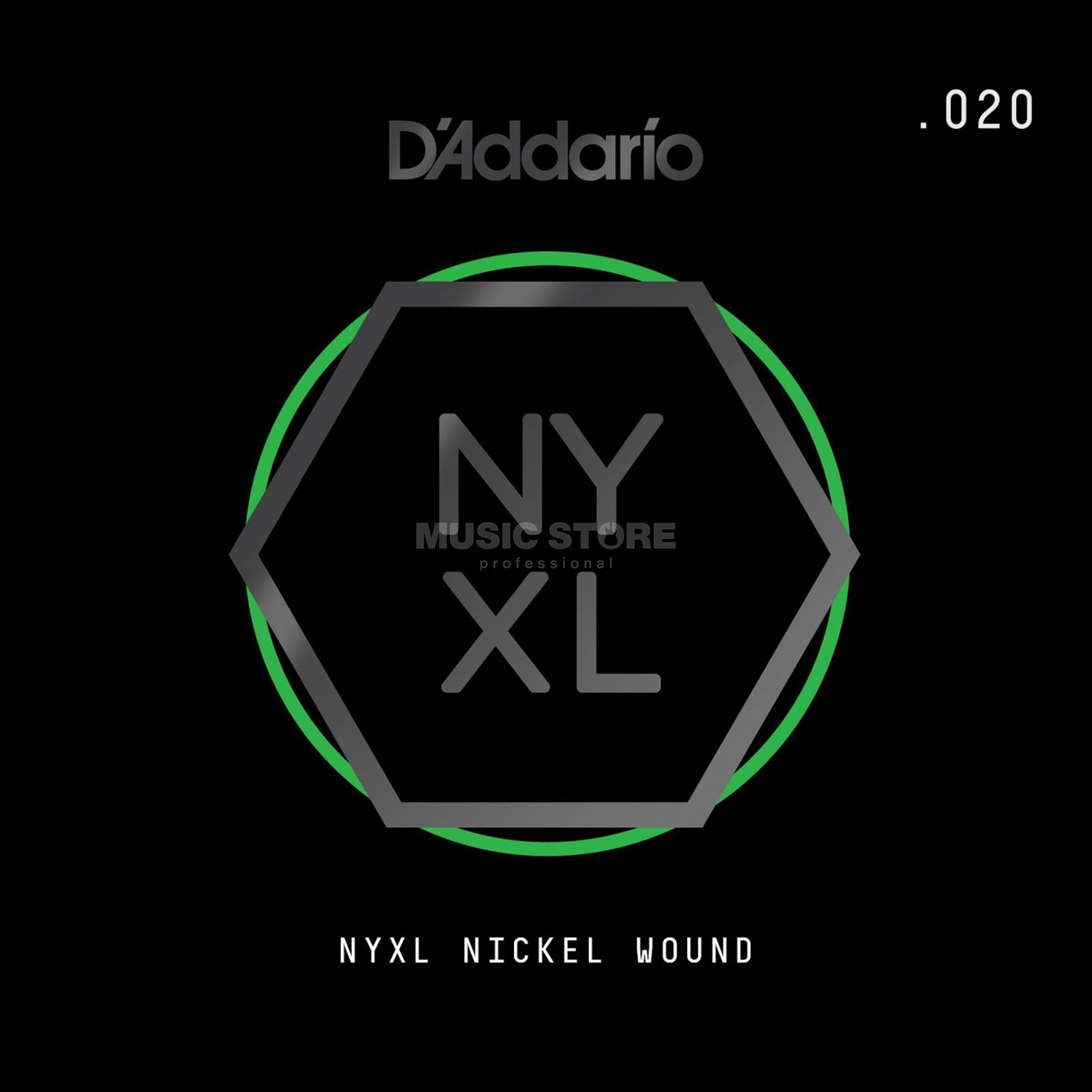 D'Addario NYNW020 Single String Nickel Wound Productafbeelding