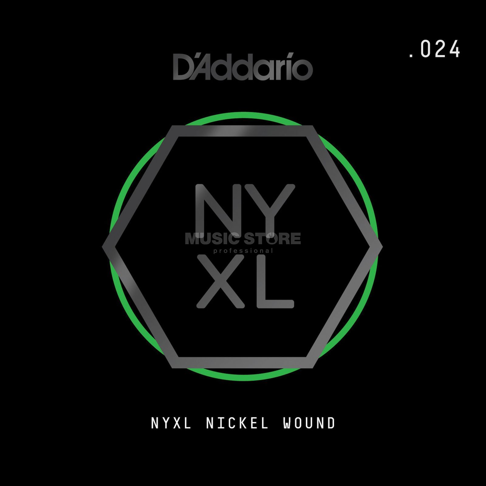 D'Addario NYNW024 Single String Nickel Wound Produktbillede