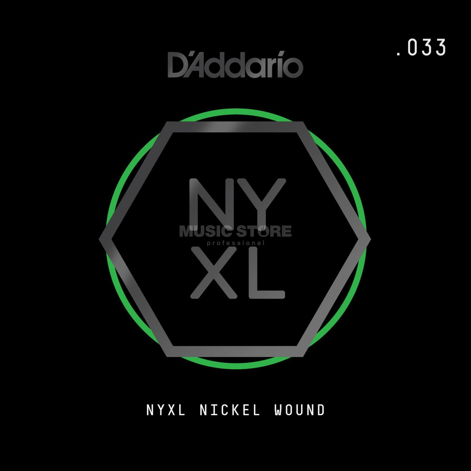 D'Addario NYNW033 Single String Nickel Wound Produktbillede
