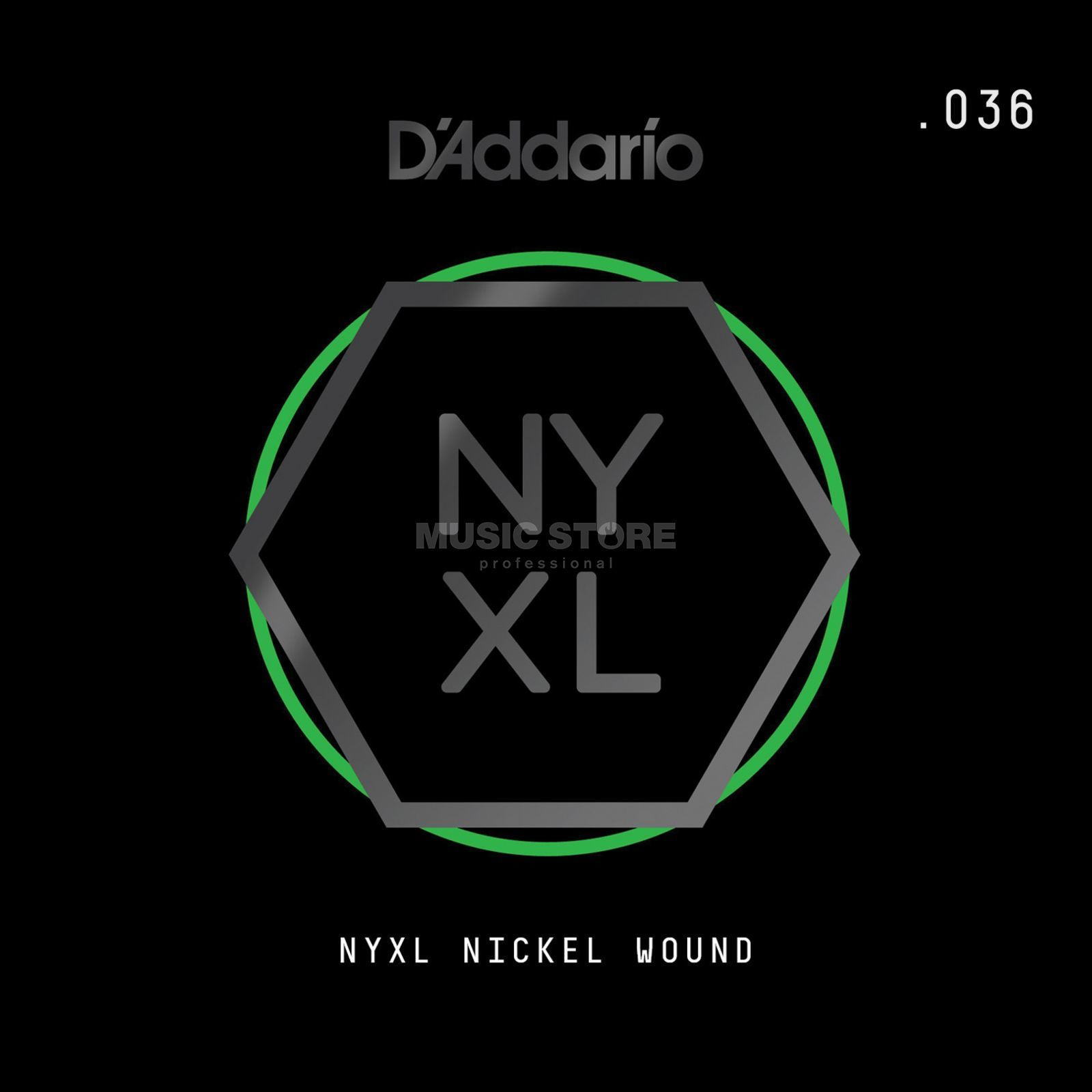D'Addario NYNW036 Single String Nickel Wound Produktbillede