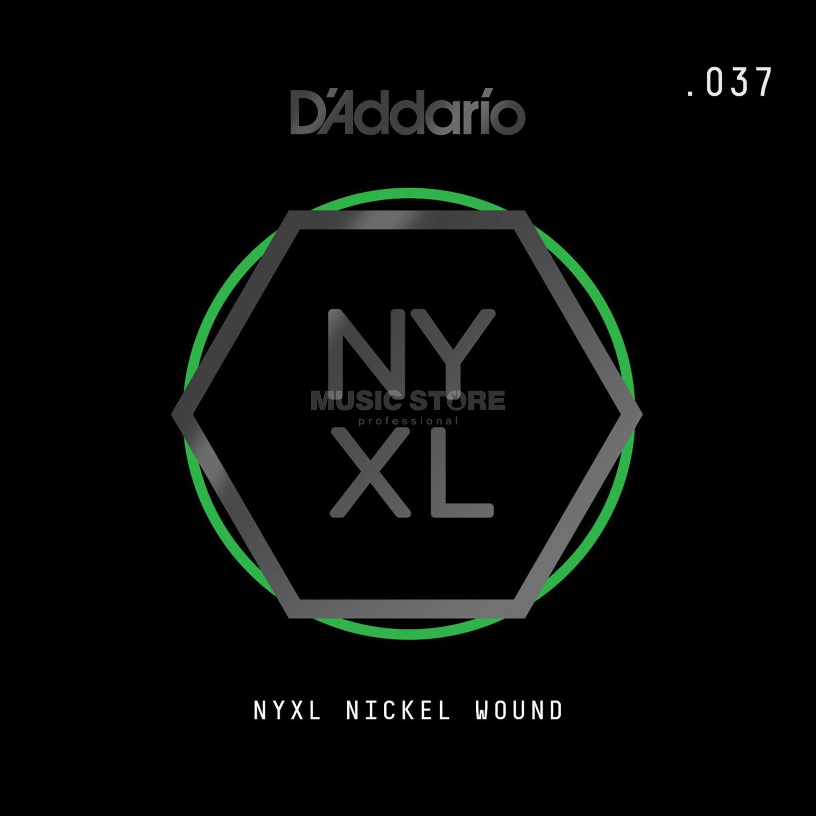 D'Addario NYNW037 Single String Nickel Wound Image du produit