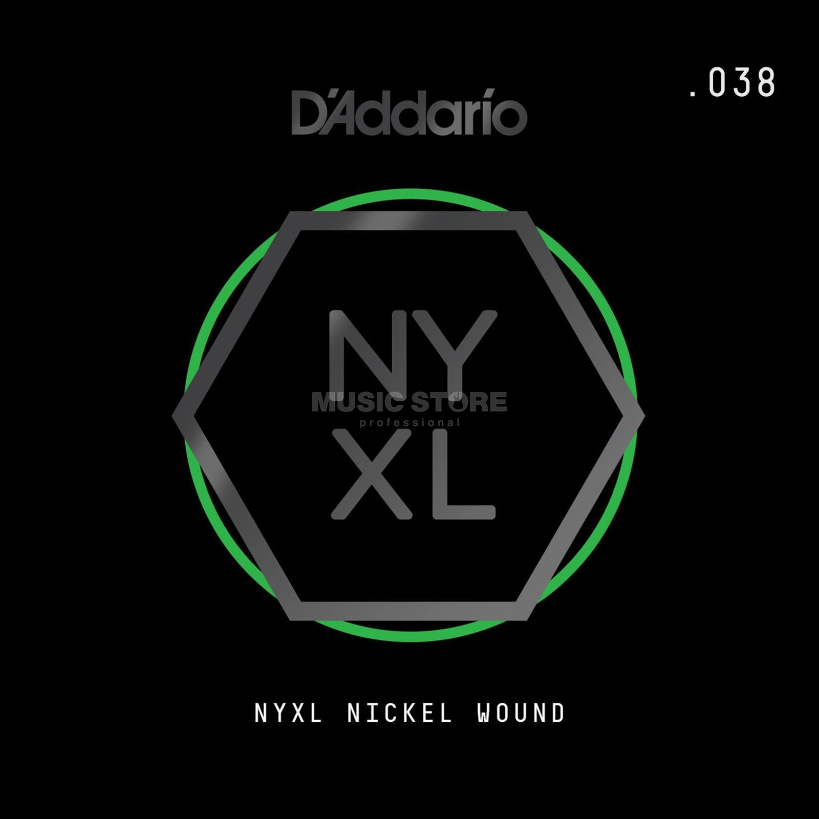 D'Addario NYNW038 Single String Nickel Wound Product Image