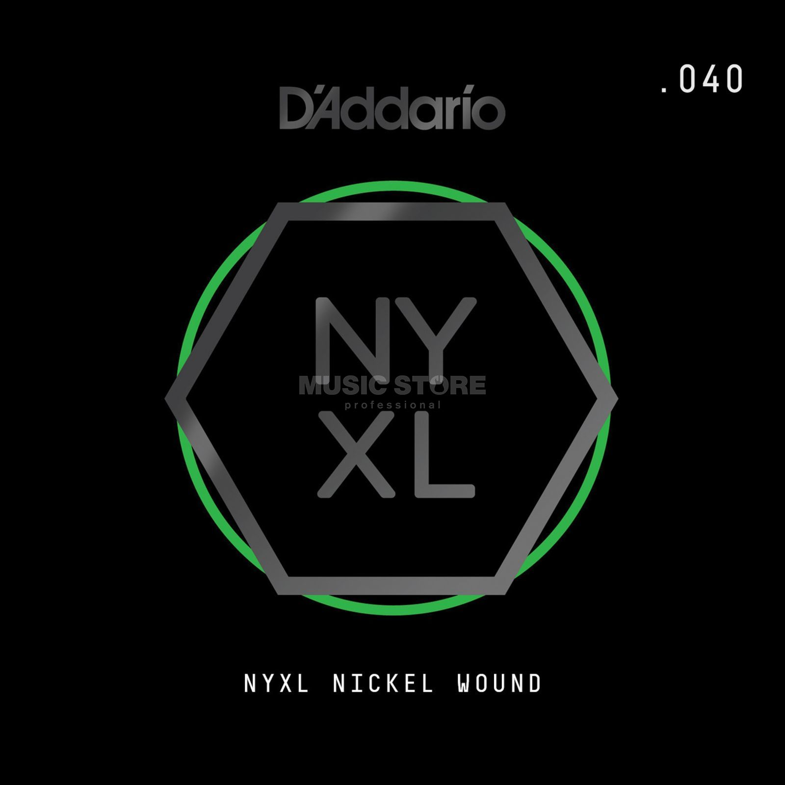 D'Addario NYNW040 Single String Nickel Wound Productafbeelding