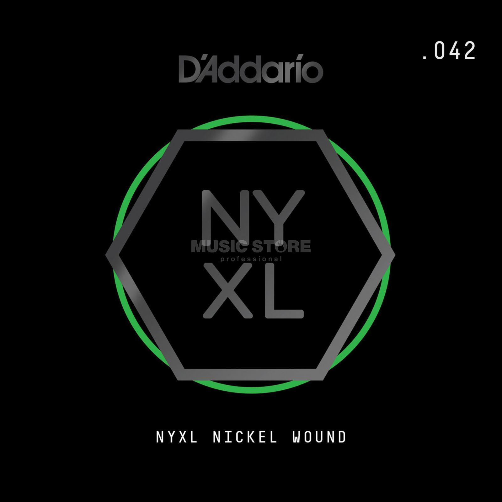D'Addario NYNW042 Single String Nickel Wound Image du produit