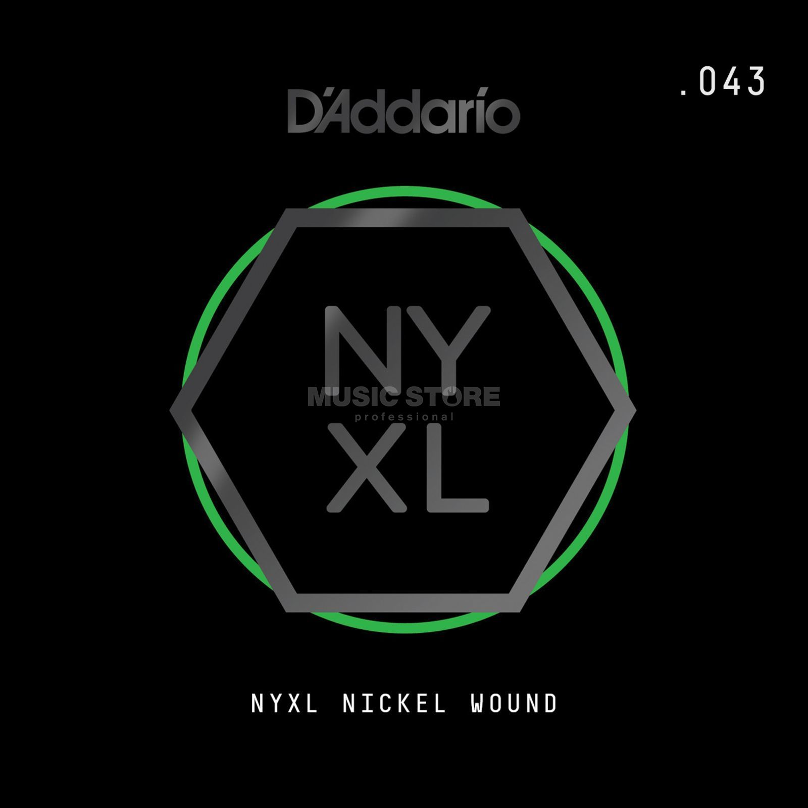 D'Addario NYNW043 Single String Nickel Wound Productafbeelding