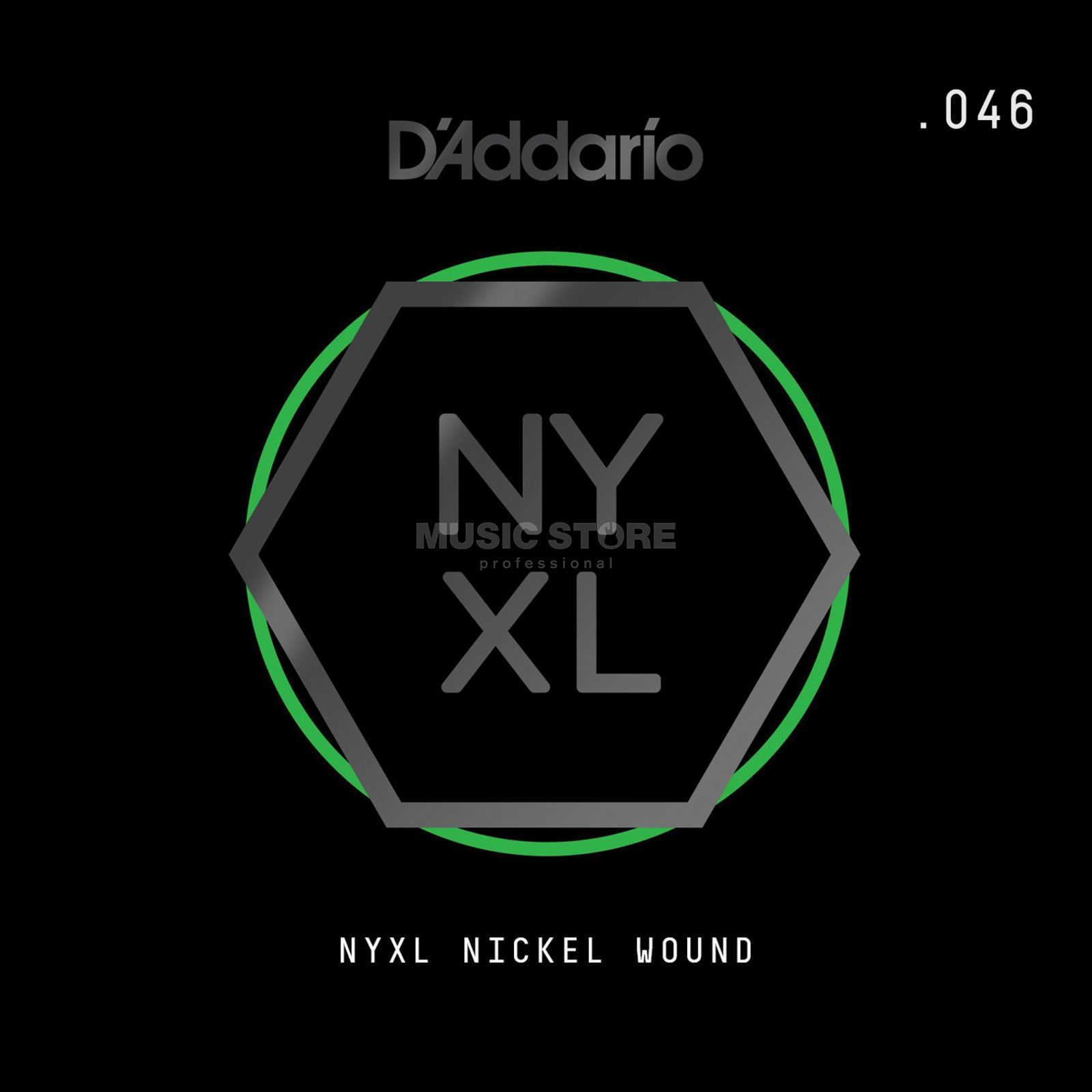 D'Addario NYNW046 Single String Nickel Wound Productafbeelding