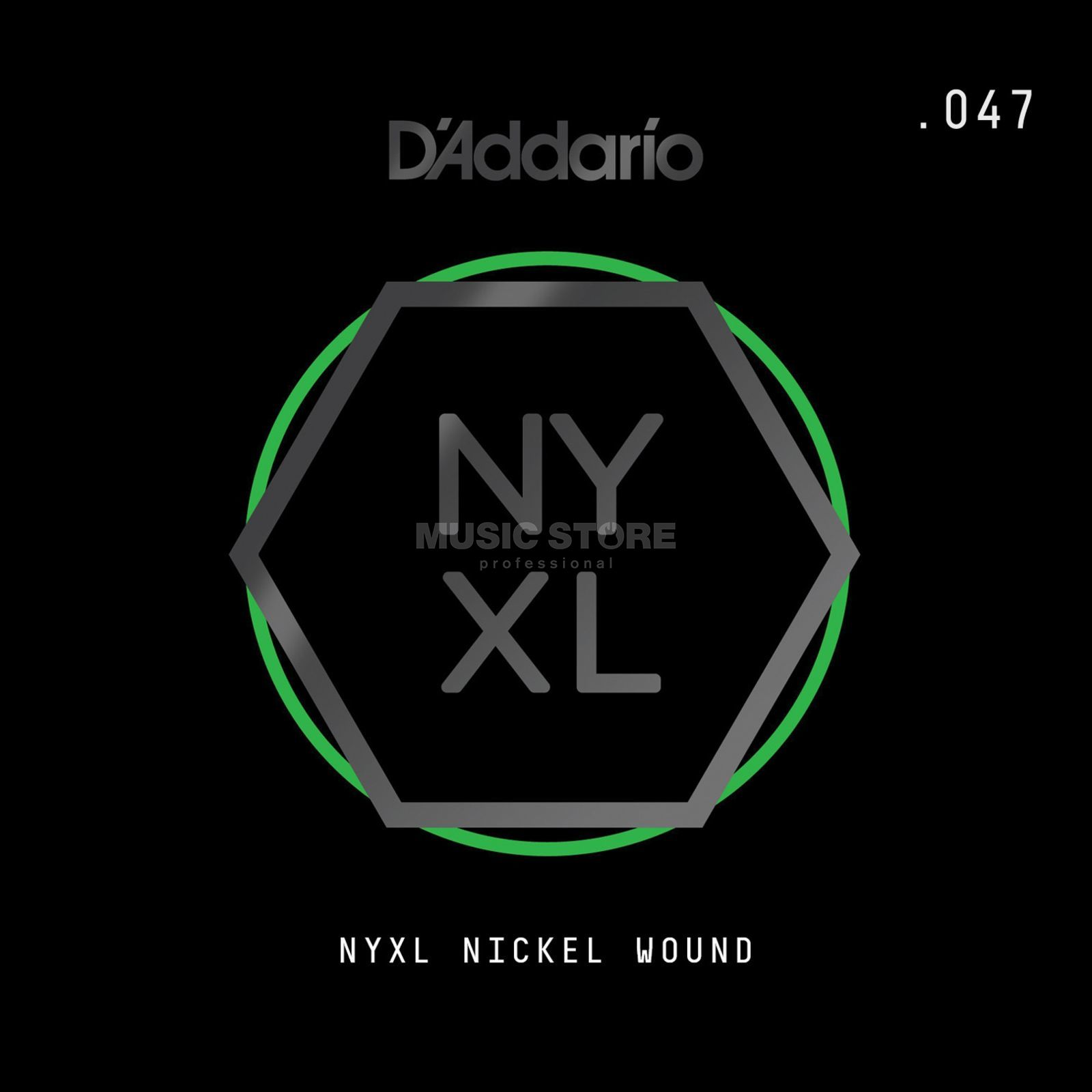 D'Addario NYNW047 Single String Nickel Wound Productafbeelding