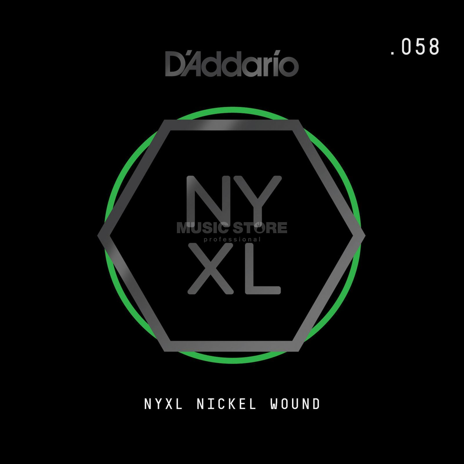 D'Addario NYNW058 Single String Nickel Wound Imagem do produto
