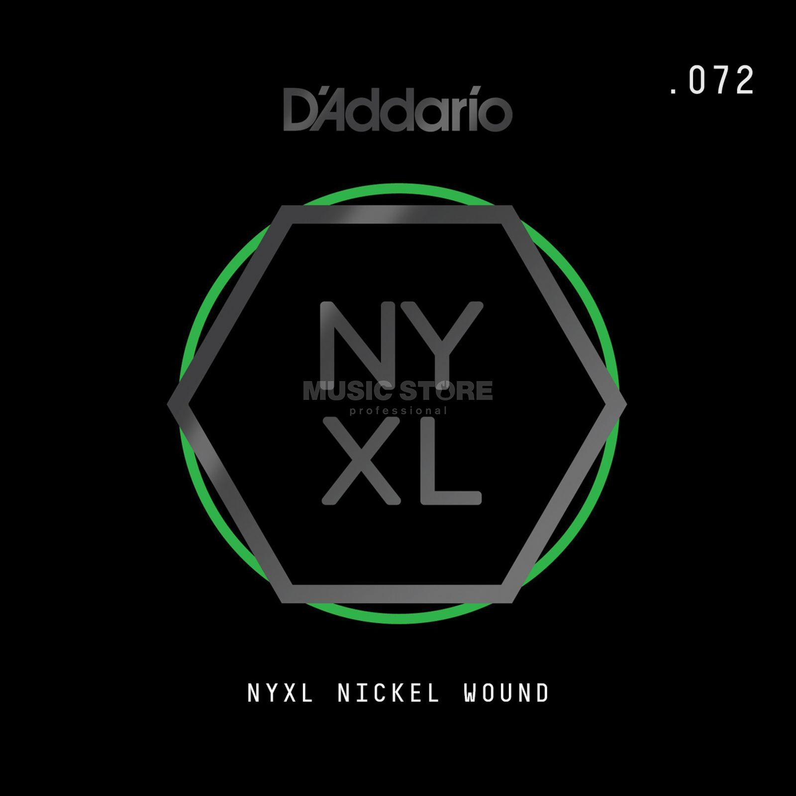 D'Addario NYNW072 Single String Nickel Wound Immagine prodotto