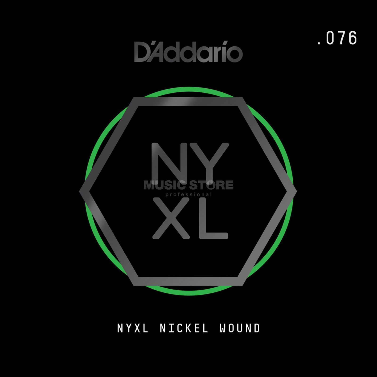 D'Addario NYNW076 Single String Nickel Wound Image du produit