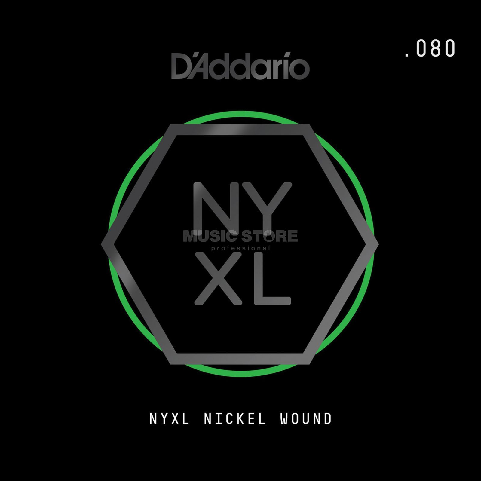 D'Addario NYNW080 Single String Nickel Wound Изображение товара