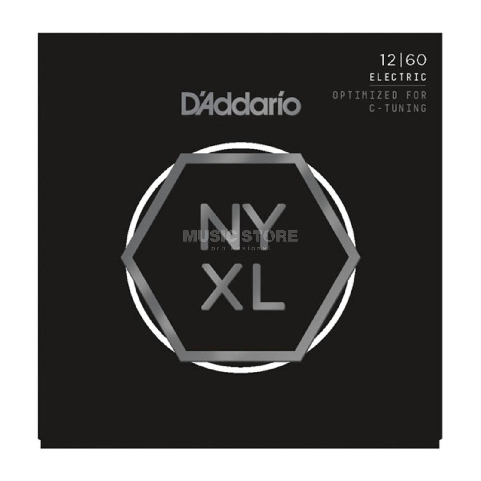 D'Addario NYXL 12-60 Carbon Steel Alloy Product Image