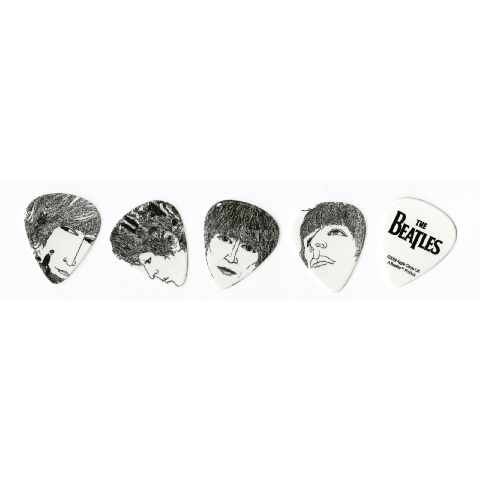D'Addario Planet Waves Beatles Picks Revolver 10-pack medium, 1CWH4-10B1 Product Image