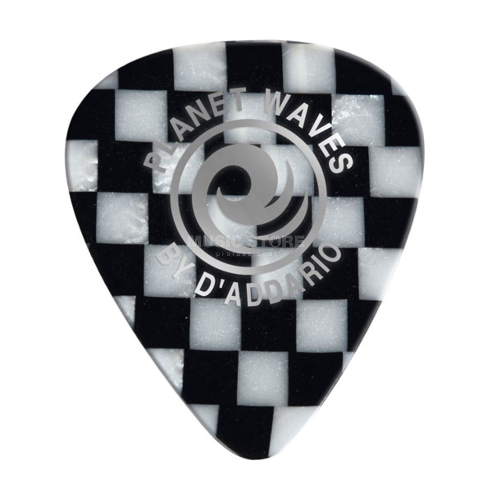 D'Addario Planet Waves Checkerboard Picks 0,50 mm 10-Pack, 1CCB2-10 Produktbillede