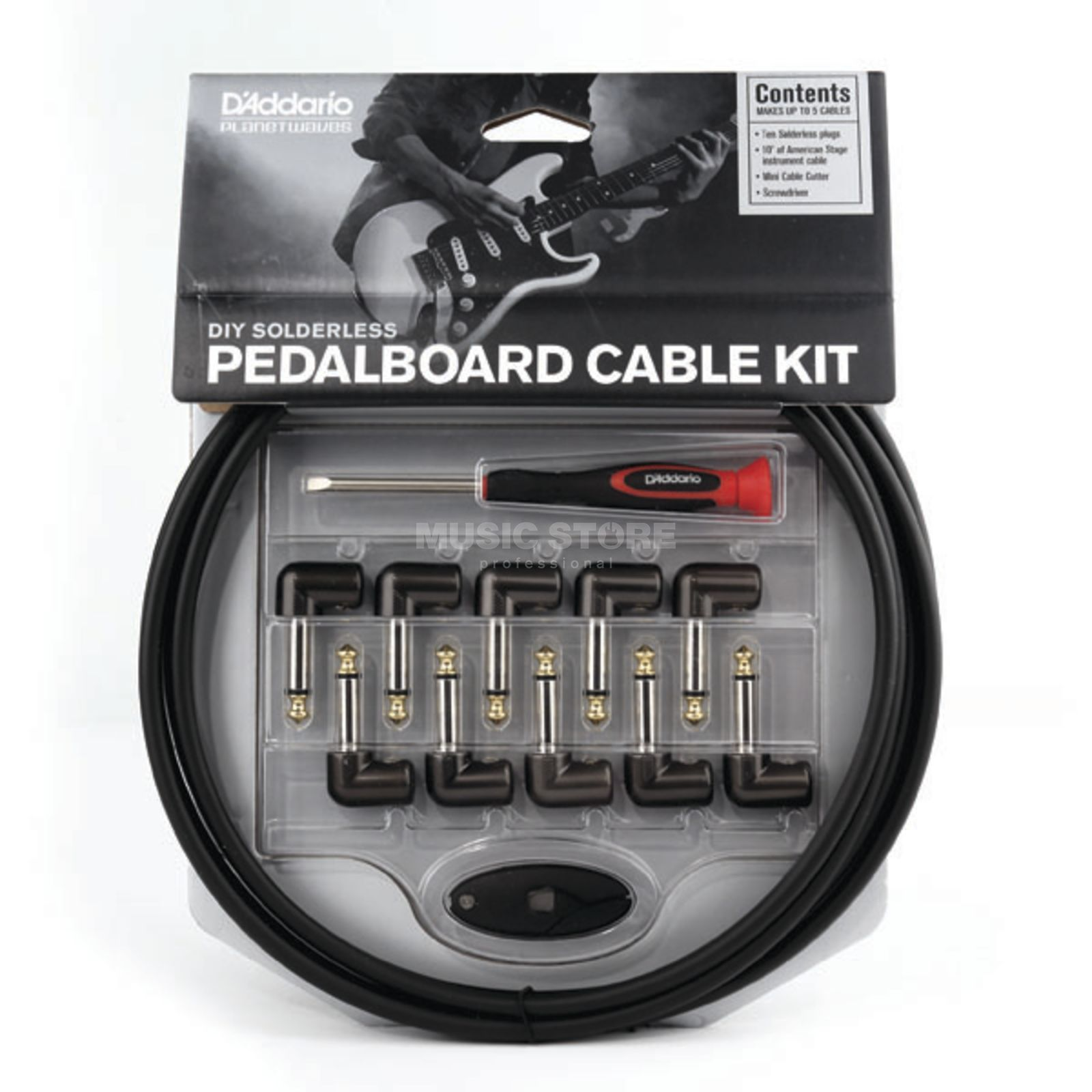 D'Addario Planet Waves Kabel Kit für Pedale und Racks  Produktbild