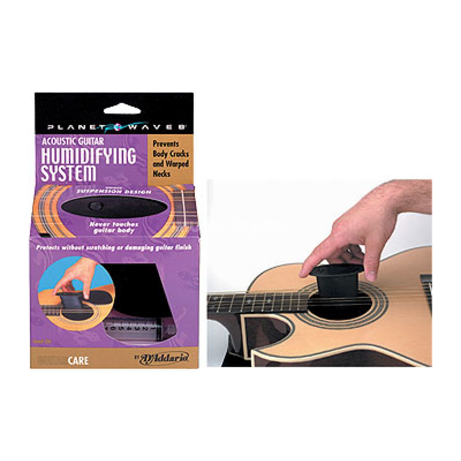 D'Addario Planet Waves Soundhole Suspended Acoustic G uitar Humidifier   Изображение товара