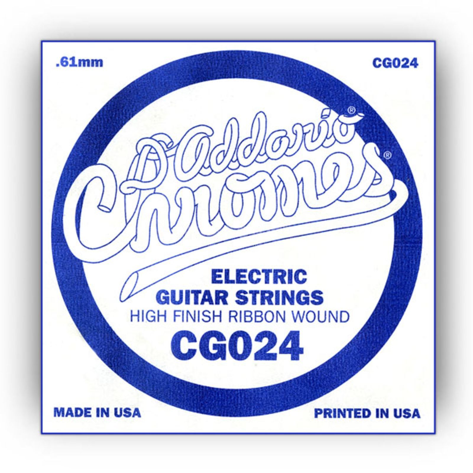 D'Addario Single String CG024 Flat Wound  Produktbillede