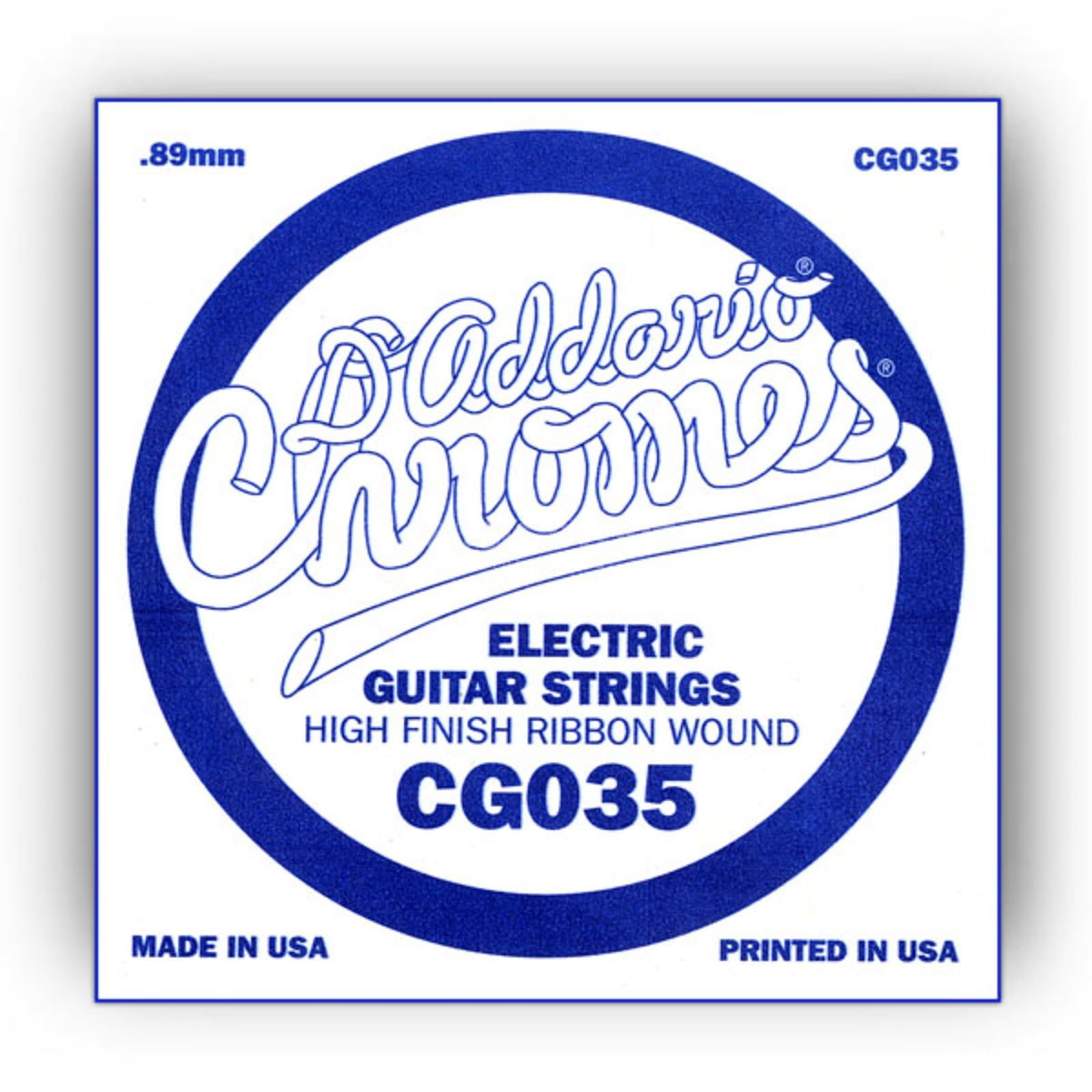 D'Addario Single String CG035 Flat Wound  Product Image