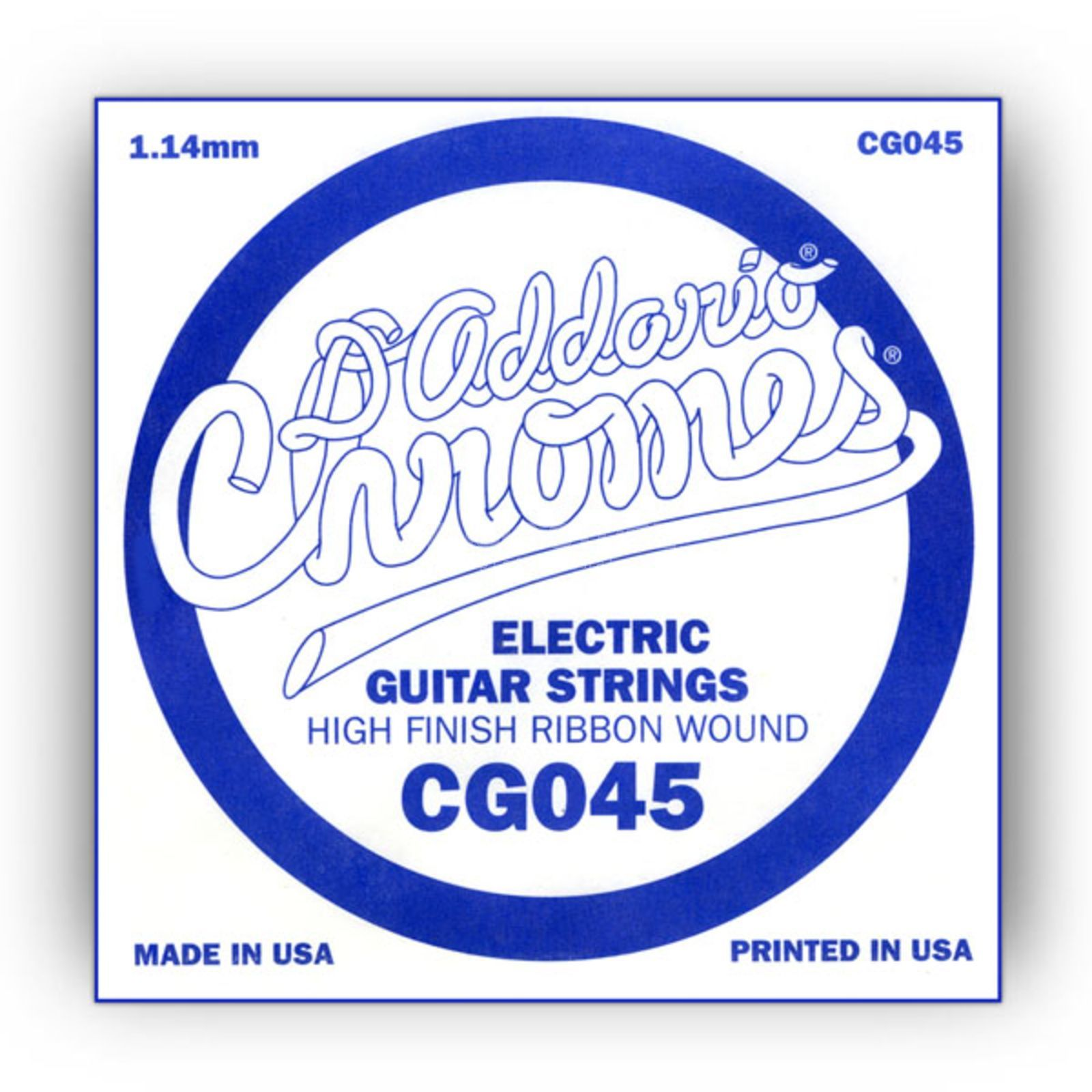 D'Addario Single String CG045 Flat Wound  Produktbillede