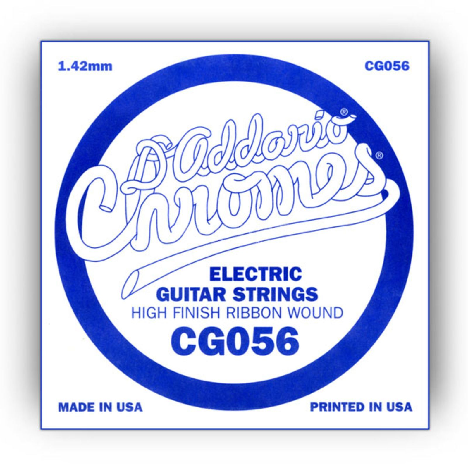 D'Addario Single String CG056 Flat Wound  Produktbillede