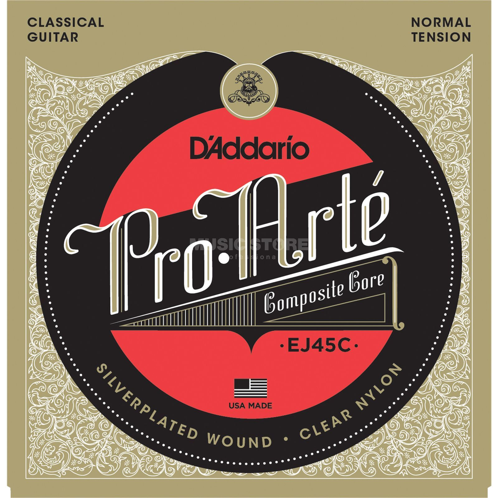 D'Addario Strings Composites EJ45C Pro Arte, Normal Produktbillede