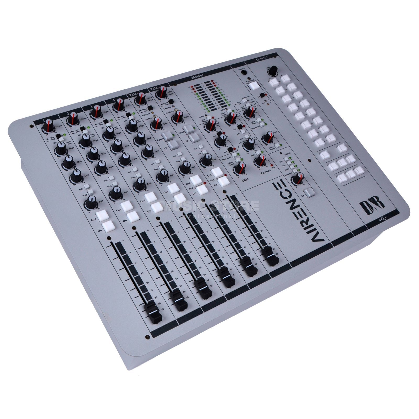 D & R Airence USB Broadcast Mixer w/ USB Produktbillede