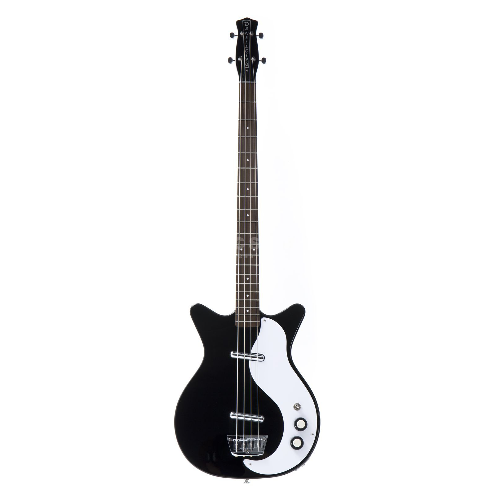 Danelectro 59 DC Long Scale Bass Black Produktbillede