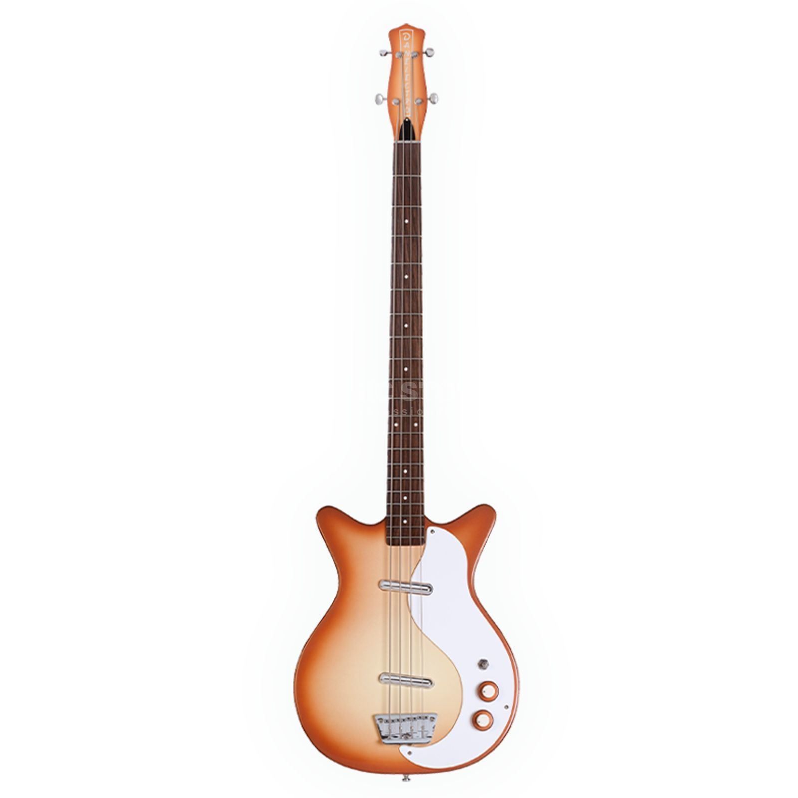Danelectro 59 DC Long Scale Bass Copper Burst Produktbild