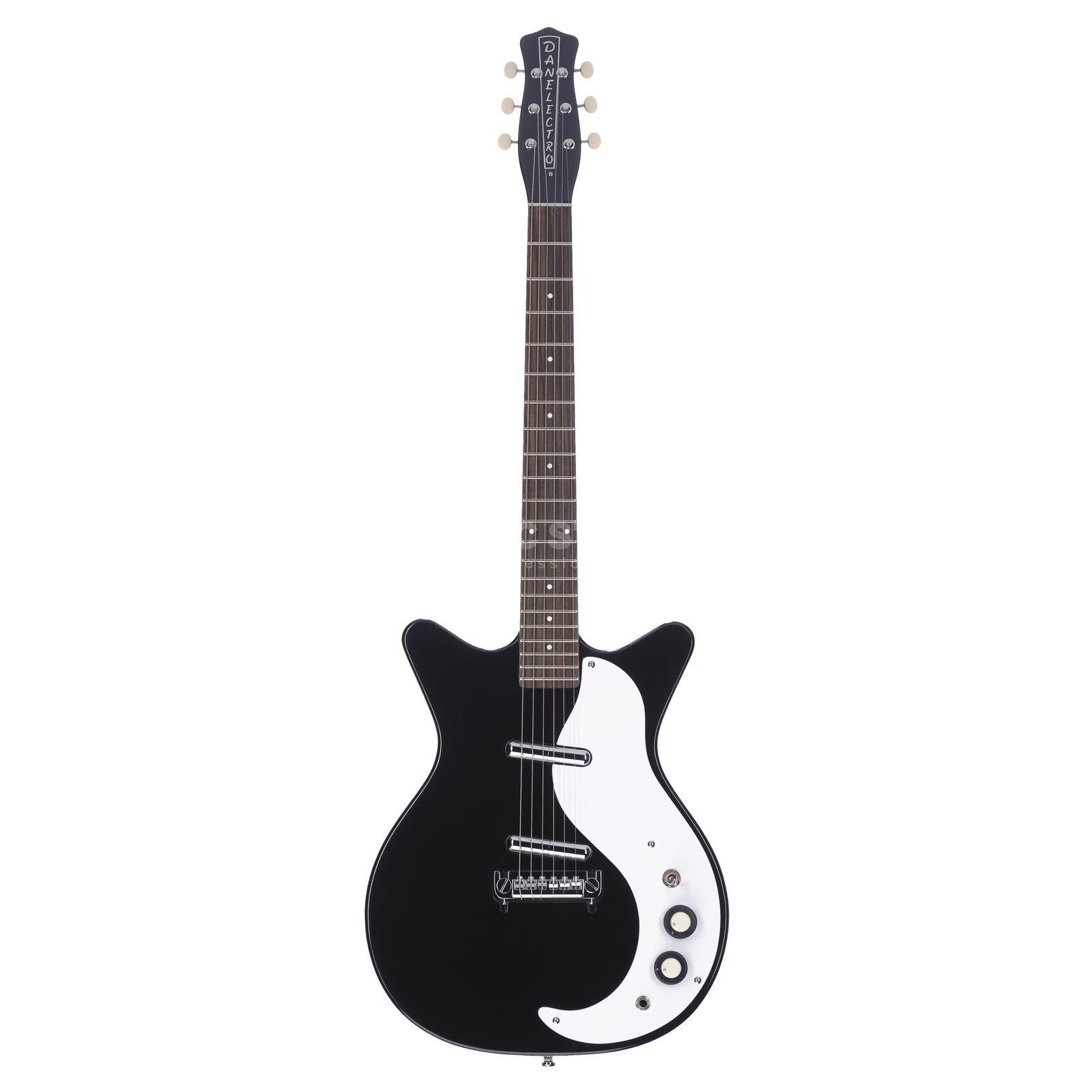 Danelectro '59 Double Cut Modified BK Black Produktbild