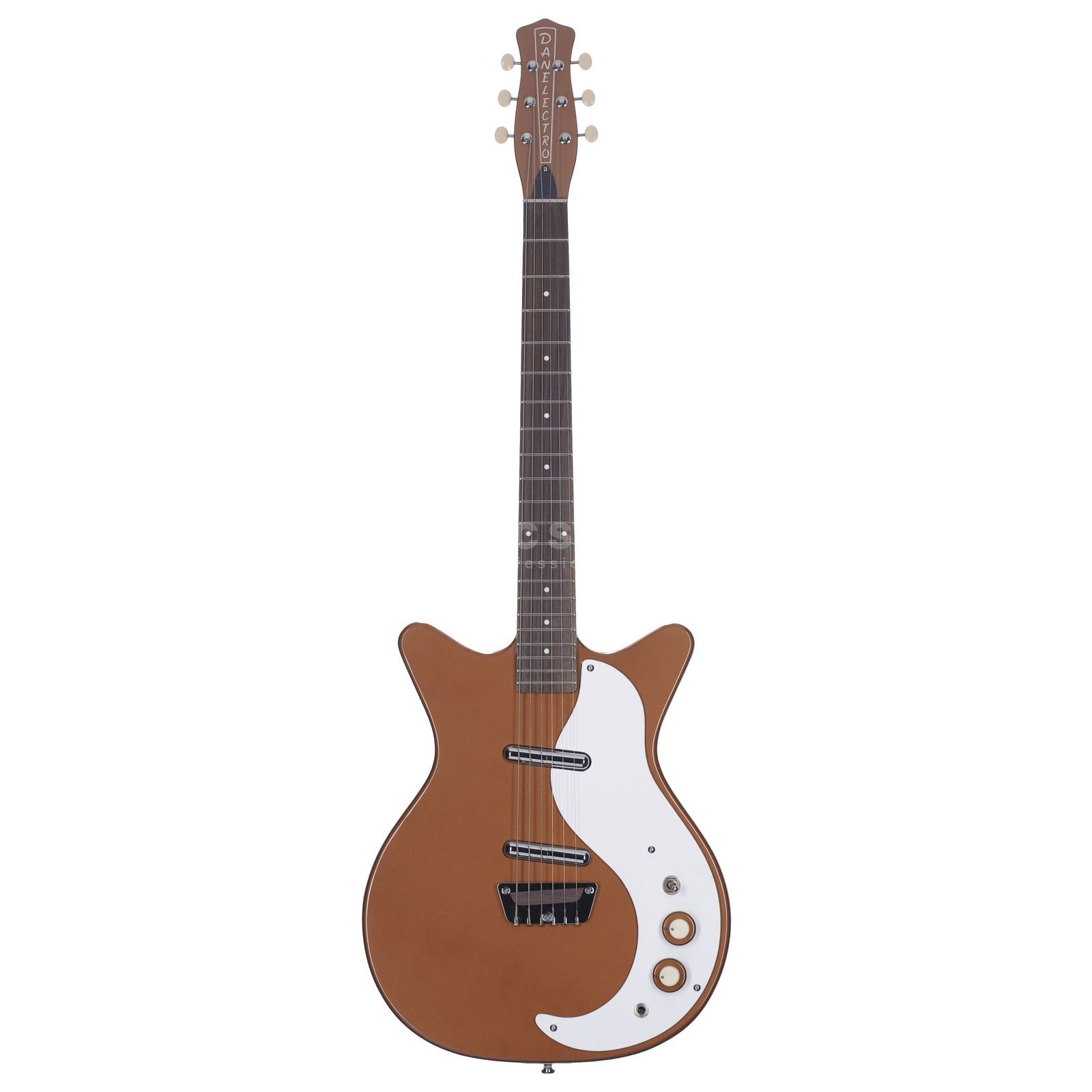Danelectro 59 Double Cutaway Original CO Copper Produktbillede